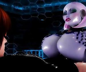 Guy FUCKS His Personal Robo Sluts Phat Ass & HUGE TittysRobot Porn 11 min HD+