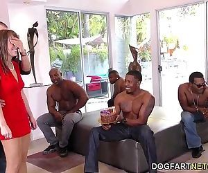 Birthday Gangbang with Sexy Mom Alana CruiseHD