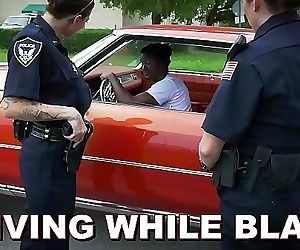 BLACK PATROLHe Gets Pulled Over For DWB 10 min HD+