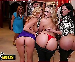 BANGBROSCollege Sex Bang Bros Style! With Alexis Texas And Friends! 12 min HD
