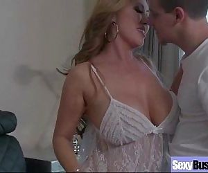 Housewife With Big Juggs Fucks On Camera clip-20