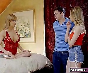 MomsTeachSexBusty MILF Gets Hot Mothers Day Threesome! S8:E4 12 min HD
