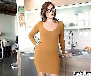 Big Booty MILF Helps Her Step-Son Out 8 min HD