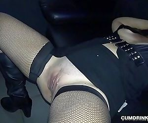 Slutwife gangbanged by many strangers at the Adult Theater 6 min HD+