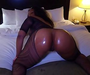 big butt black ghetto freak get rammed by BBC 10 min HD+