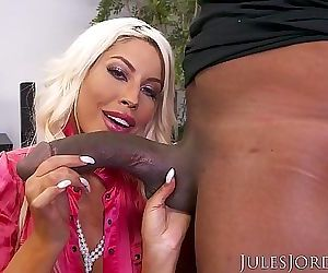 Jules JordanBridgette B Big Tit MILF Gets A Bonus For All Her Hard Work. A Big Black Cock 12 min HD+