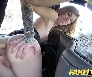 Fake Taxi Busty brunette gets her arse stretched in deep anal fuck 7 min HD