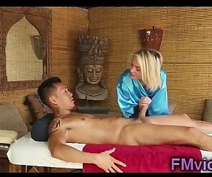 Sexy blonde Dakota Skye with asian guy