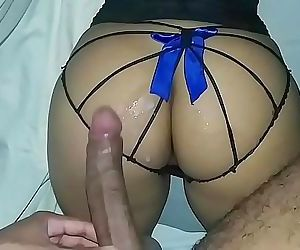 I love fuck with my stepfather is better than my boyfriend, I mess with his huge cock and cums in my ass 12 min HD