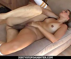 DirtyStepDaughterAllie Haze Scolded Then Fucked By Step Dad 12 min HD+