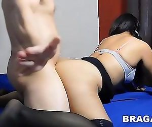 Part 2sex after the party, she having horny big ass and use thong 10 min 720p
