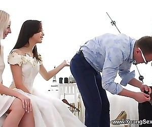 Young Sex PartiesDress fitting and a threeway Stefy Shee, Michelle Can 7 min HD+