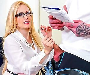 High School Teacher Fucks her Freshman StudentAngel Wicky 8 min HD+