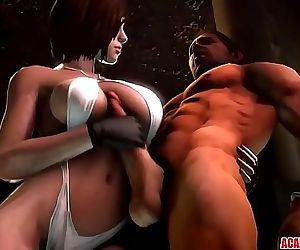 Hot Jill Valentine gets pussy banged hard and raw 10 min HD